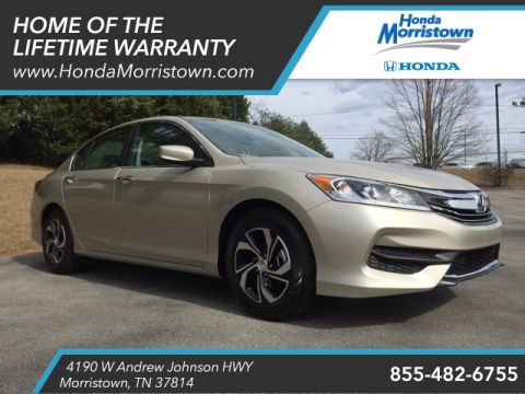 New Honda Accord LX